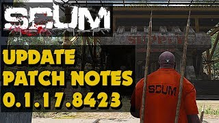 Scum - Scum Update Patch Notes - Sept 4th (New Survival Game)