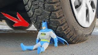 EXPERIMENT: CAR VS BATMAN