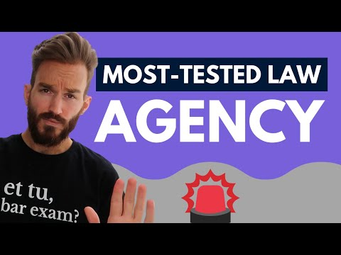 Business Associations Bar Review (Agency): Most Tested Areas of Law on the Bar Exam [PREVIEW]