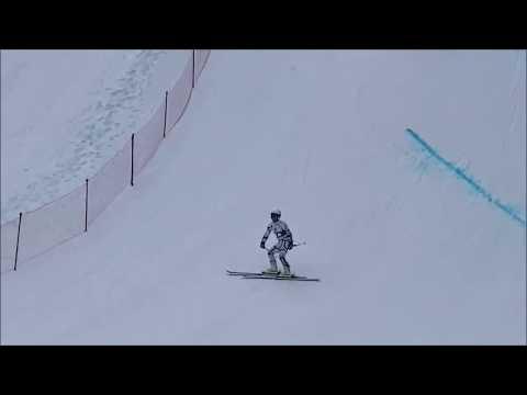 第19回冬季デフリンピック競技大会(イタリア) アルペンスキー大回転の様子