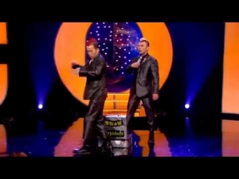 Japanese Comedy Duo absolutely kill it on a British TV Show