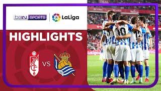 Granada 2-3 Real Sociedad Pekan 6