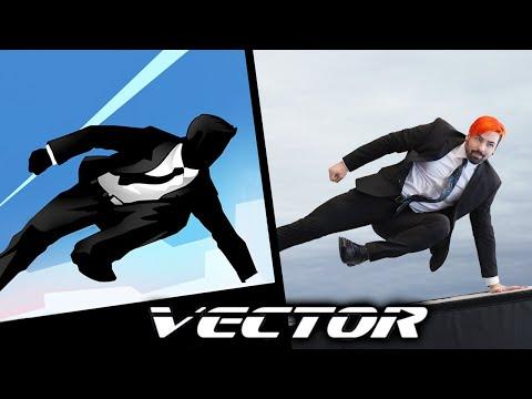 現實呈現VECTOR中的各種高難度動作