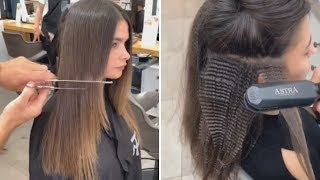10+ Haircut Ideas And Haircut Trends For Every Hair Type   Beautiful Hairstyles Compilation