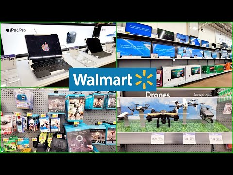 WALMART ELECTRONICS SHOP WITH ME TV, LAPTOPS, IPADS, APPLE WATCH AND MORE!
