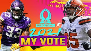 2021 NFL Pro Bowl Voting TEMPLATE -- Don't Be a Casual!