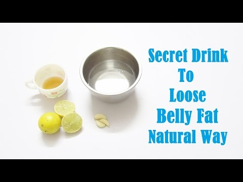 Secret Drink To Lose Belly Fat Natural Way
