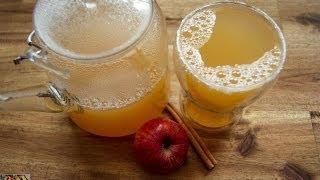 Apfelpunsch selber machen - Rezept und Anleitung