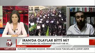 İran'daki Protestoları HalkTV'ye Değerlendirdim