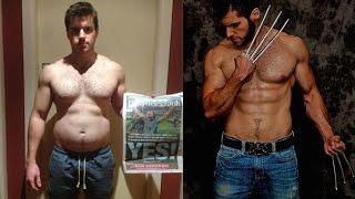 """The Wolverine"" 4 Week Diet & Training Transformation Challenge- Final Reveal"