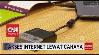 Canggih! Koneksi Internet Melalui Cahaya