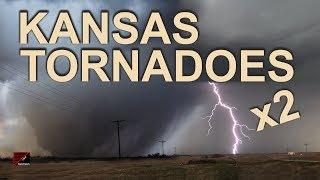 Kansas Tornadoes EF3 and EF1 May 1 2018