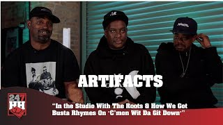 "Artifacts - Working w/ The Roots & How Busta Rhymes Got On ""C'mon Wit Da Git Down""(247HH Exclusive)"