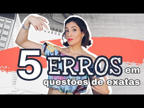 ACERTE MAIS QUESTÕES DE EXATAS