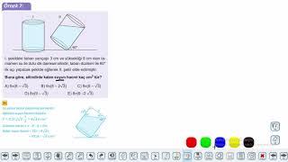 Eğitim Vadisi 11.Sınıf Matematik 14.Föy Katı Cisimler Konu Anlatım Videoları