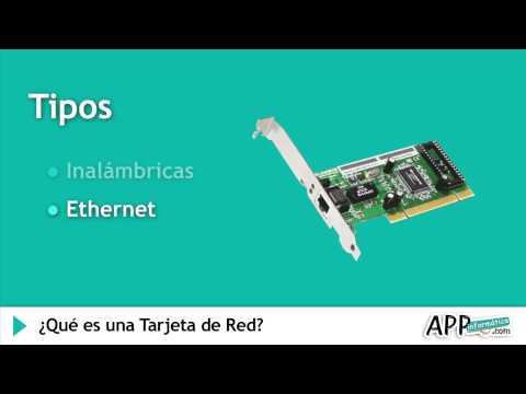 ¿Qué es una Tarjeta de Red? l APPinformatica.com