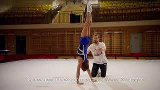 Смотреть онлайн Какие упражнения надо делать в спортивной гимнастике