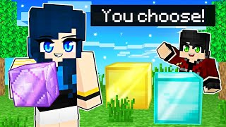 You DECIDE what we build in Minecraft!