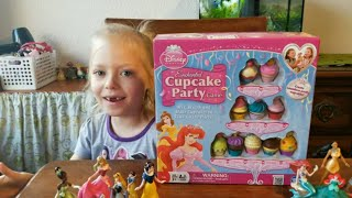 Disney Princess Enchanted Cupcake Party Game - Secondhand Toy Review