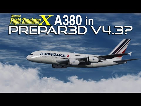 Best A380 for FSX - Project Airbus/Wilco A380 Merge - Download