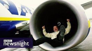 Has Ryanair cut too close for comfort? - BBC Newsnight