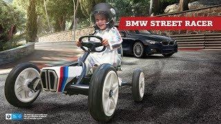 Vaikiškas minamas kartingas su pripučiamais ratais | BMW Street Racer | Berg