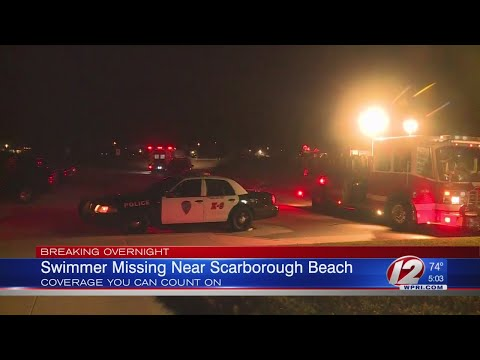 , title : 'Search resumes for missing swimmer at Scarborough State Beach'