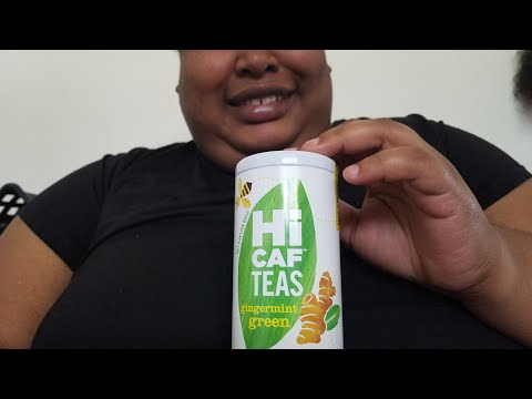 Tuesdays with a Tea Episode 71: Republic of Tea's Hi Caf Teas Gingermint Green