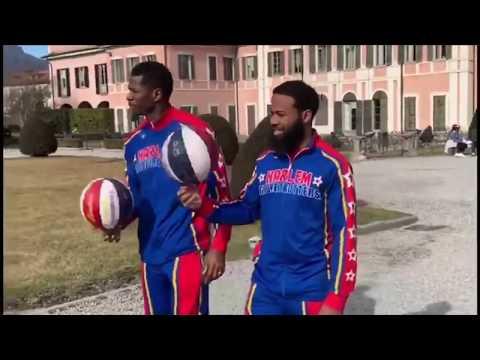 Gli Harlem Globetrotters a spasso per Varese
