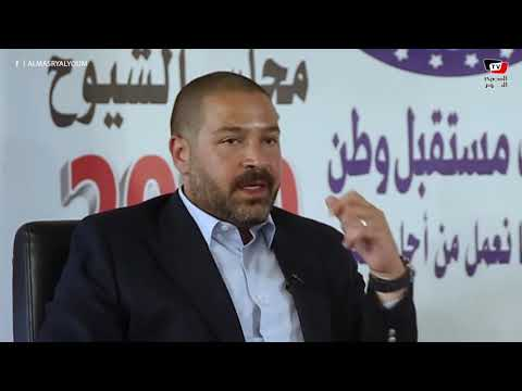 أحمد دياب: ترشحي لمجلس الشيوخ انتصارا للشباب