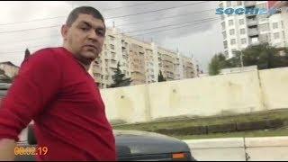 В Сочи автохам избил инвалида