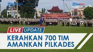 700 Personel Tim Kemanan Gabungan Ditugaskan Jaga Pilkades di OKI, Ada dari Satpol PP hingga Kodim