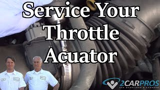 Throttle Actuator Service GMC Sierra