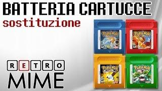 RetroMime - [BricoGame] Sostituire La Batteria Delle Cartucce Del Game Boy