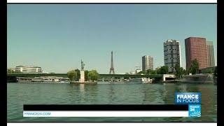 Paris' leasures and pleasures: retracing the history of the Seine river banks