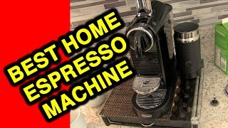 BEST AT-HOME espresso & latte: Review Nespresso CitiZ espresso machine