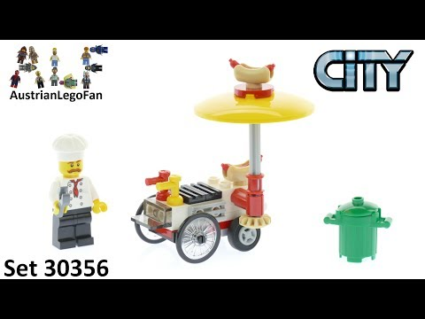Vidéo LEGO City 30356 : Le stand de hot dog
