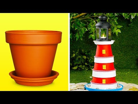 16 Fantastic Garden DIY Ideas