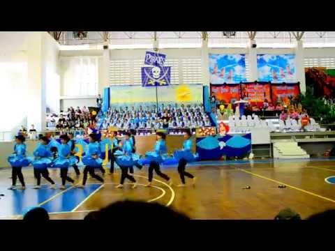 เชียร์ลีดเดอร์สีฟ้า จภ.ชลบุรี : ฺBlue Pirate Khaesadgame 14 th PCCChonburi