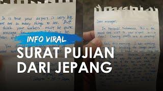 Viral Surat dari Warga Jepang yang Memuji Petugas Kebersihan Bandara Soekarno-Hatta