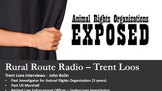 Animal Rights Organizations Exposed On Rural Route Radio