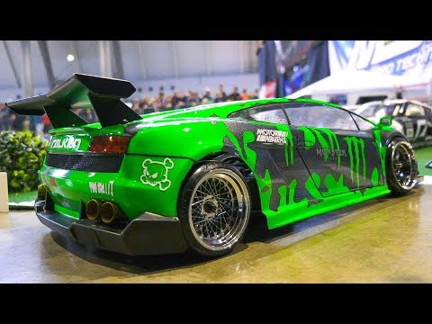 AMAZING RC MODEL SCALE DRIFT CARS IN DETAIL AND ACTION!! *REMOTE CONTROL CARS