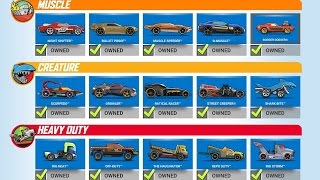 HOT WHEELS RACE OFF All Cars Unlocked and Fully Upgraded Gameplay Android / iOS