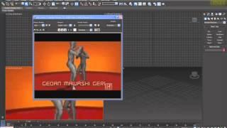 3D Max KF - Настройка фона окон проекции