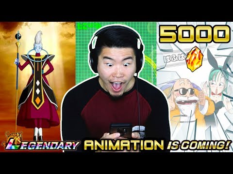 5000 STONES! CAN WE GET ALL THE NEW SUMMONING ANIMATIONS?! | DBZ Dokkan Battle