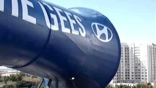 Hyundai Giant vuvuzela - the sound test