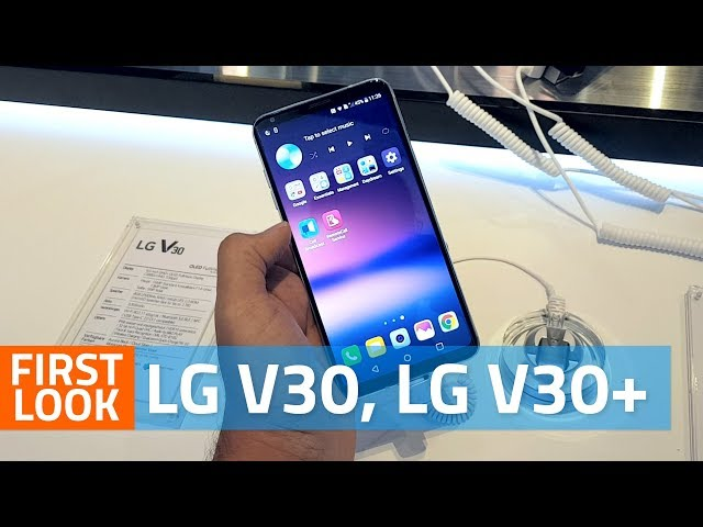 LG V30 With 6-Inch FullVision Display, Dual Rear Cameras Launched at