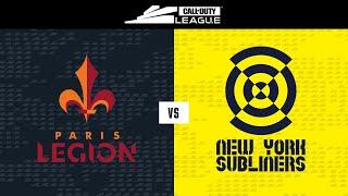 Knockout C | Paris Legion vs New York Subliners | London Royal Ravens Home Series | Day 2