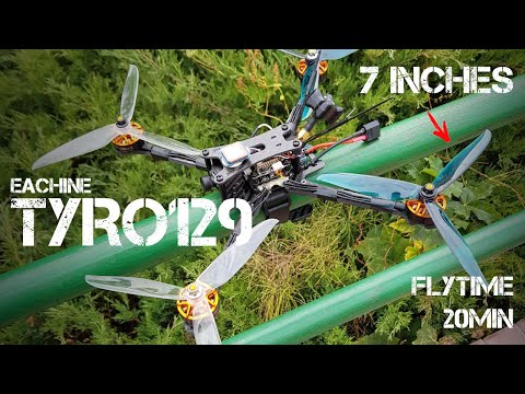 EACHINE Tyro129 | Недорогой квадрокоптер-долголет 7 дюймов