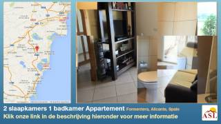 preview picture of video '2 slaapkamers 1 badkamer Appartement te Koop in Formentera, Alicante, Spain'
